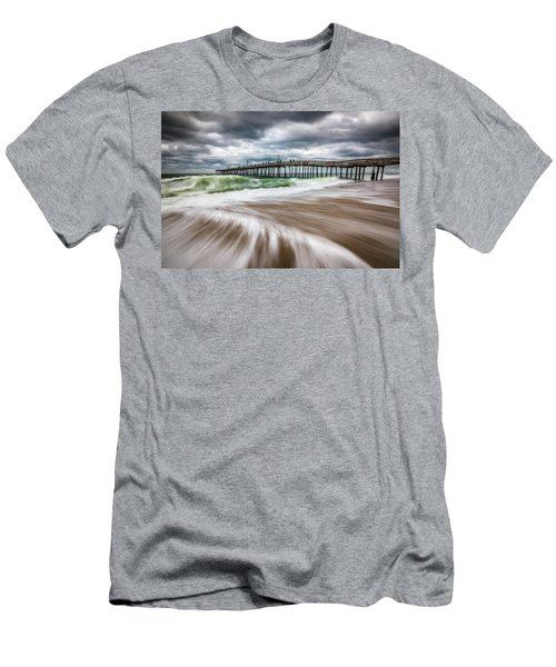 Outer Banks Nc North Carolina Beach Seascape Photography Obx Men's T-Shirt (Athletic Fit)