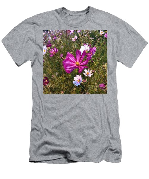 Men's T-Shirt (Athletic Fit) featuring the photograph Painted Cosmos by Brian Eberly