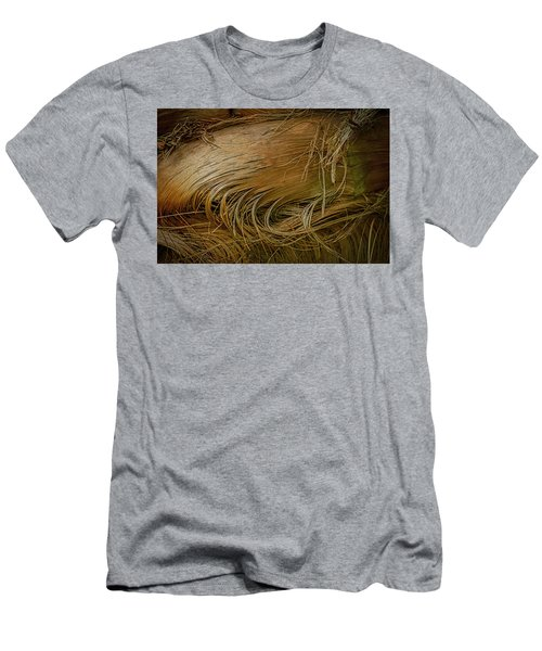 Palm Tree Straw Men's T-Shirt (Athletic Fit)