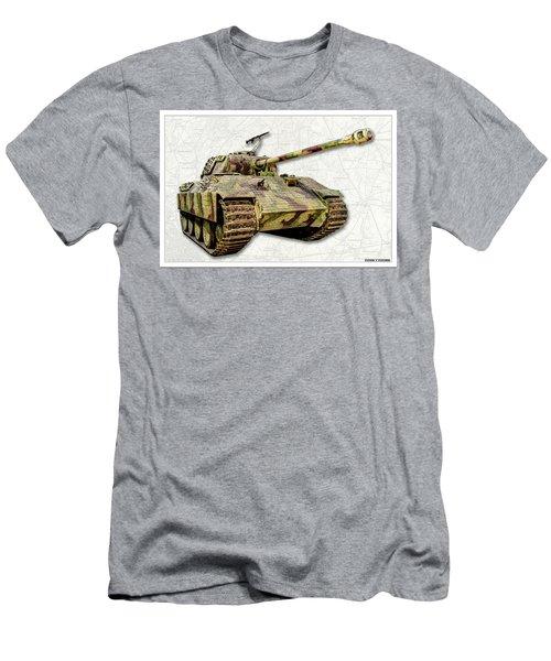 Panzer V Panther Men's T-Shirt (Athletic Fit)