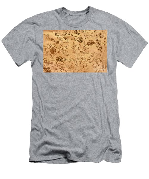 Paper Petal Patterns Men's T-Shirt (Athletic Fit)