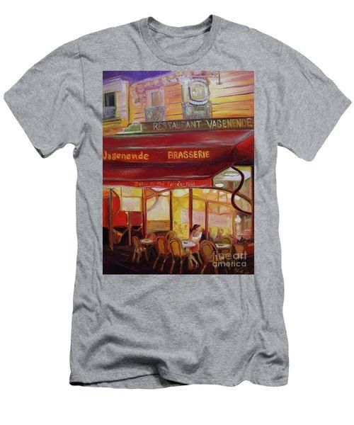 Paris Night Men's T-Shirt (Athletic Fit)