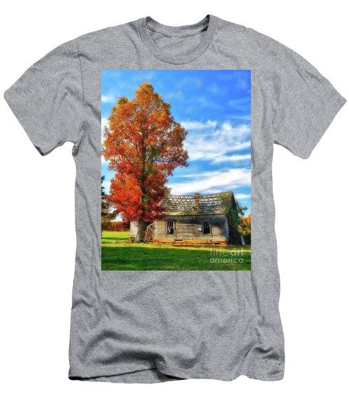Past Its Prime Vintage Autumn Barn Ap Men's T-Shirt (Athletic Fit)