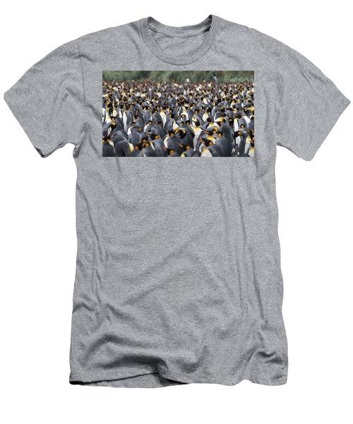 Penguinscape Men's T-Shirt (Athletic Fit)