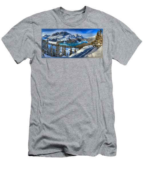 Peyto Lake T-shirt Men's T-Shirt (Athletic Fit)