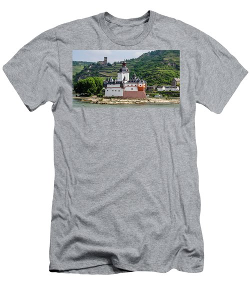 Pfalzgrafenstein Castle Men's T-Shirt (Athletic Fit)