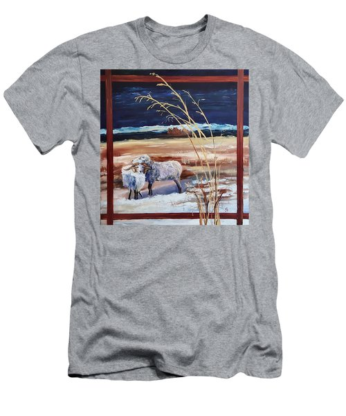 Phil And Alice Navajo Sheep    38 Men's T-Shirt (Athletic Fit)