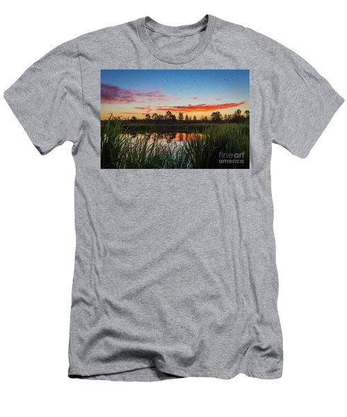 Phinizy Swamp Sunrise - Augusta Ga Men's T-Shirt (Athletic Fit)