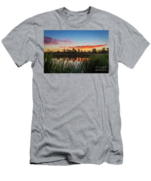 Phinizy Swamp Sunrise - Augusta Ga Men's T-Shirt (Athletic Fit)