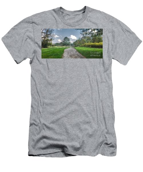 Pickerington Ponds Walkway Men's T-Shirt (Athletic Fit)