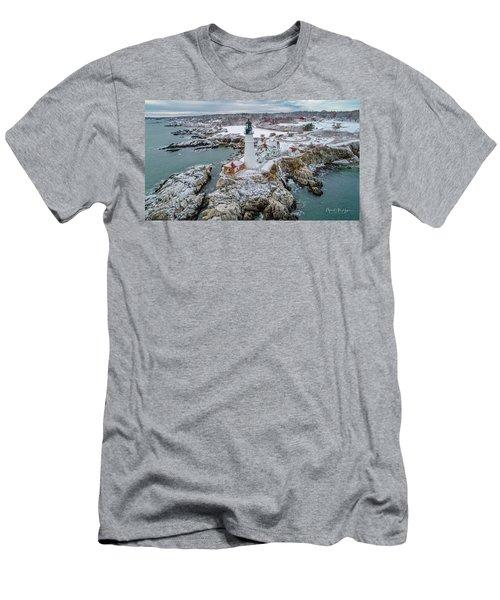 Picturesque Maine  Men's T-Shirt (Athletic Fit)