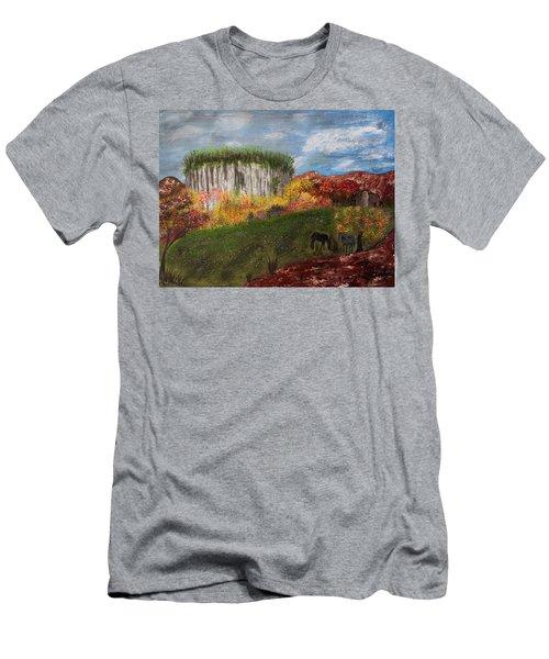 Pilot Mountain Men's T-Shirt (Athletic Fit)