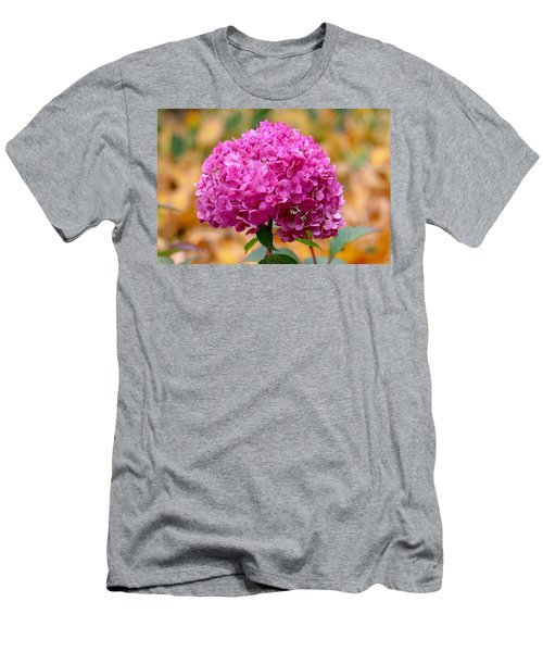 Pink Bouquet  Men's T-Shirt (Athletic Fit)