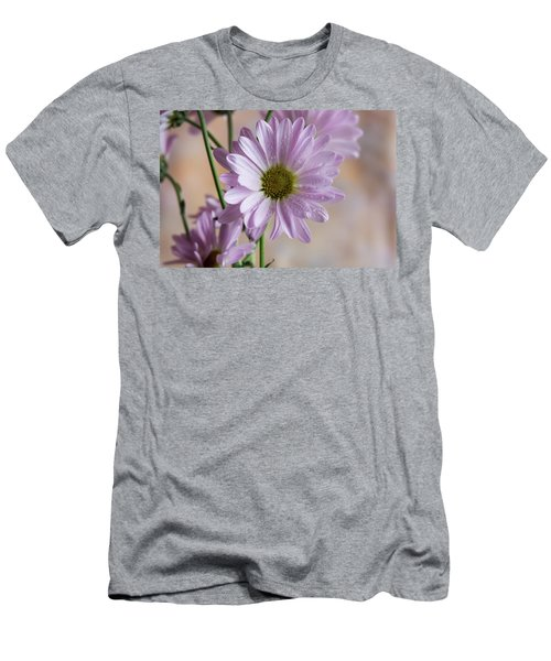 Pink Daisies-5 Men's T-Shirt (Athletic Fit)