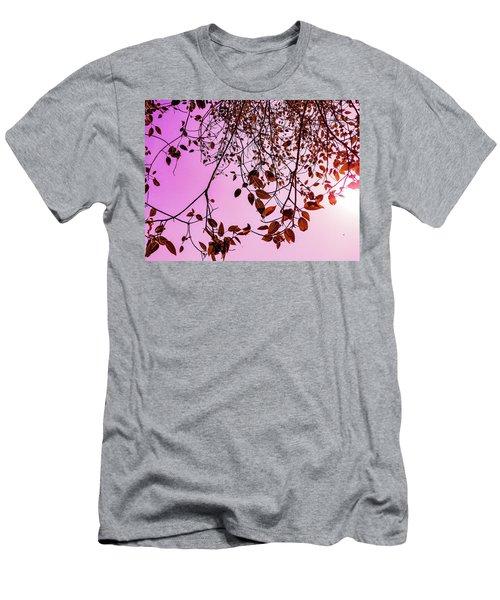 Pink Glow Men's T-Shirt (Athletic Fit)