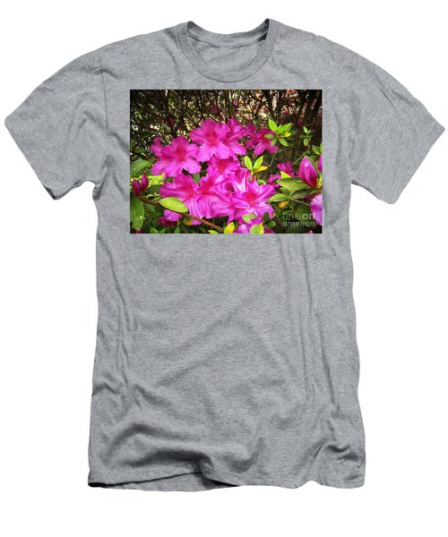 Pink Outside Men's T-Shirt (Athletic Fit)