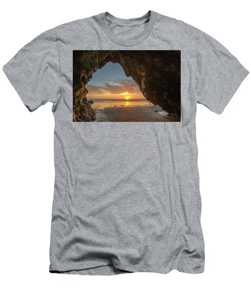 Pismo Caves Sunset Men's T-Shirt (Athletic Fit)
