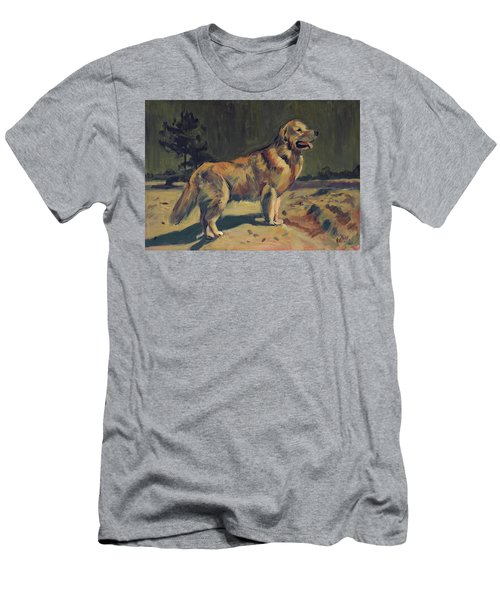 Pixel In The Dunes Of Loon Op Zand Men's T-Shirt (Athletic Fit)