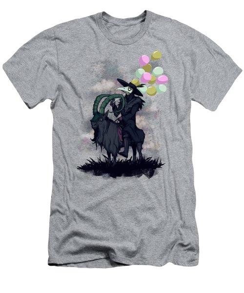 Plague Balloons Men's T-Shirt (Athletic Fit)