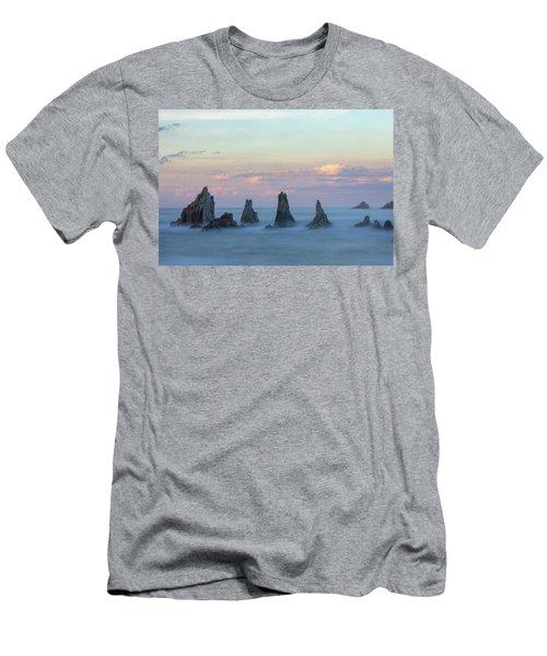 Playa De La Gueirua - Spain Men's T-Shirt (Athletic Fit)