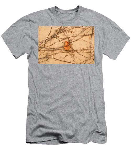Men's T-Shirt (Athletic Fit) featuring the mixed media Poignant 4 by Lynda Lehmann