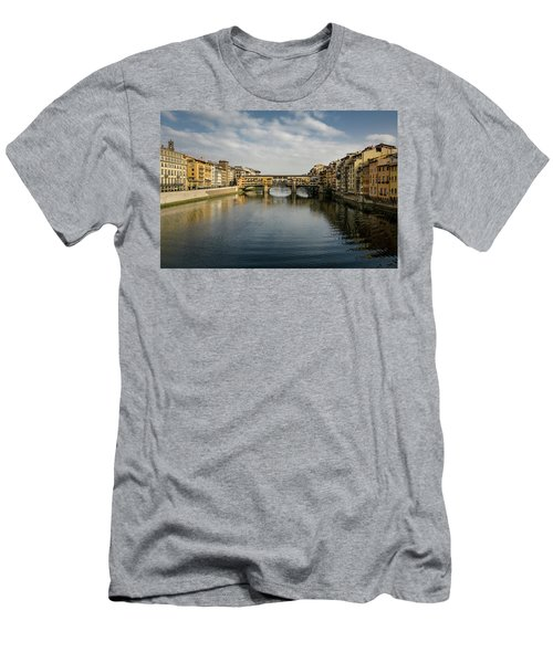 Ponte Vecchio Men's T-Shirt (Athletic Fit)