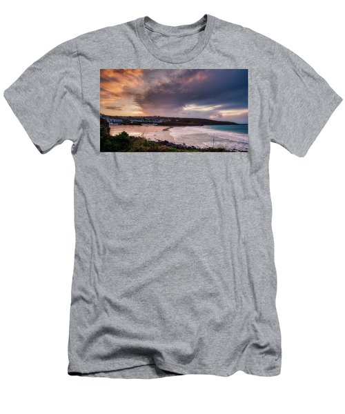 Porthmeor In The Sky Men's T-Shirt (Athletic Fit)