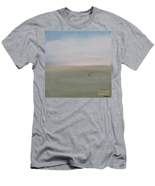 Men's T-Shirt (Athletic Fit) featuring the painting Prairie Home by Kim Nelson