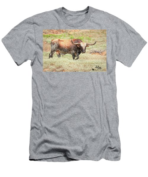 Prairie Longhorn Men's T-Shirt (Athletic Fit)