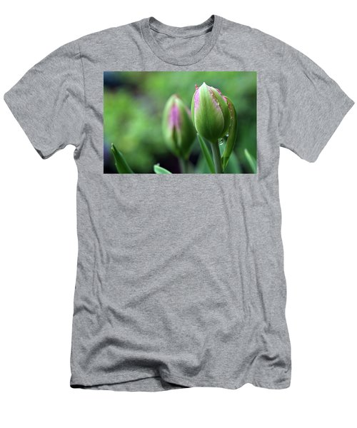 Men's T-Shirt (Athletic Fit) featuring the photograph Pray For Rain by Michelle Wermuth
