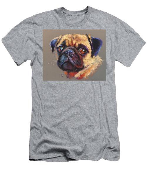Precious Pug Men's T-Shirt (Athletic Fit)