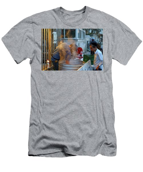 Preparing Dishes For Passover Men's T-Shirt (Athletic Fit)