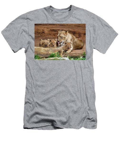 Pride Of The Pride 6114 Men's T-Shirt (Athletic Fit)