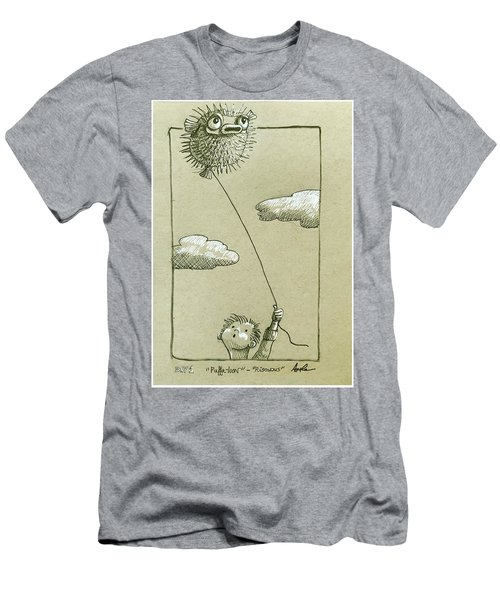 Puffaloon  Men's T-Shirt (Athletic Fit)