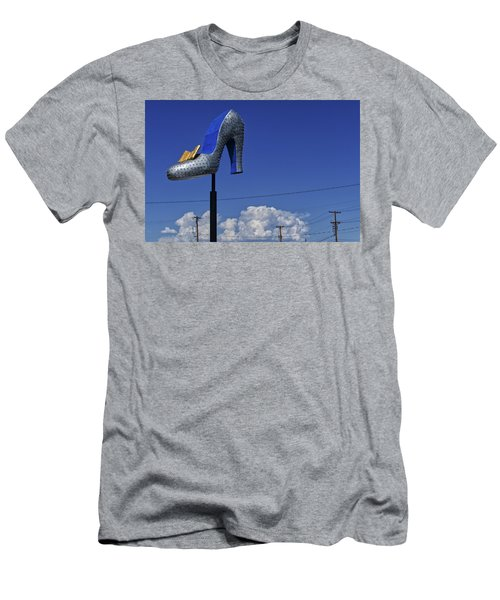 Men's T-Shirt (Athletic Fit) featuring the photograph Pump by Skip Hunt