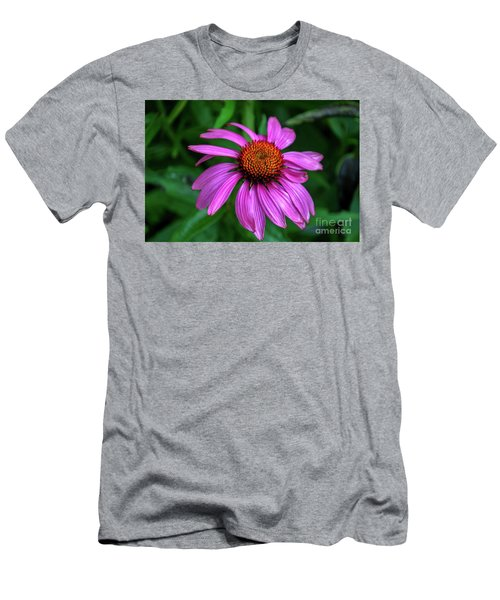 Purple Cone Flower Men's T-Shirt (Athletic Fit)