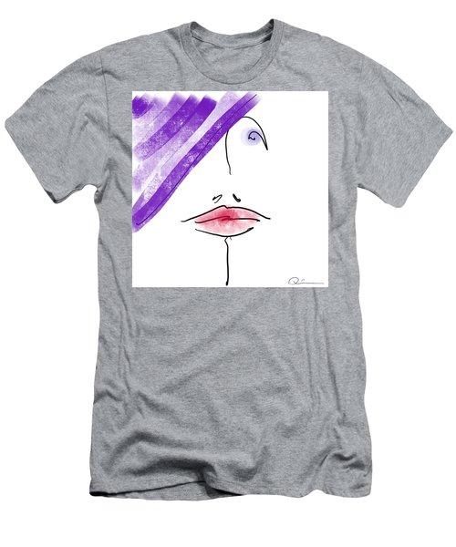 Purple Hat Men's T-Shirt (Athletic Fit)
