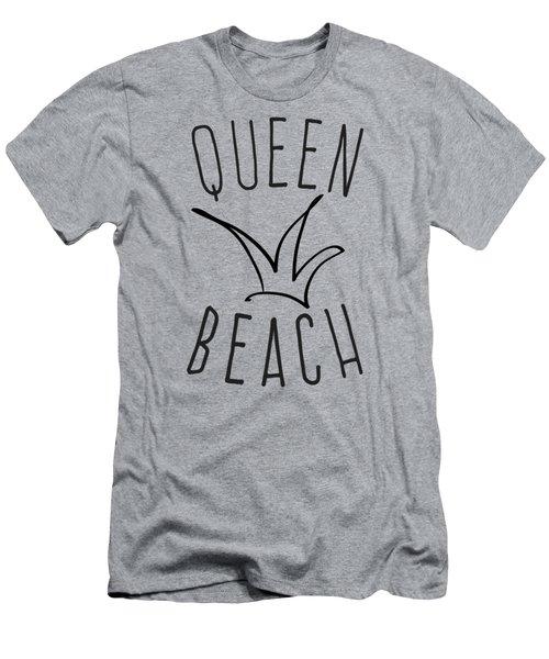 Queen Beach Men's T-Shirt (Athletic Fit)