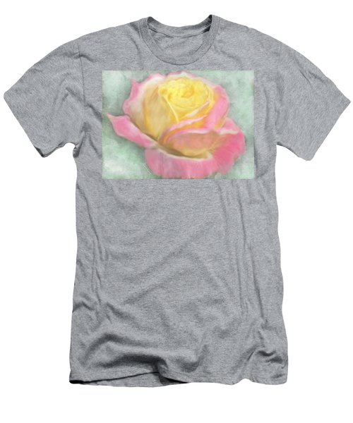 Queen Bella Rose -  I Care Men's T-Shirt (Athletic Fit)
