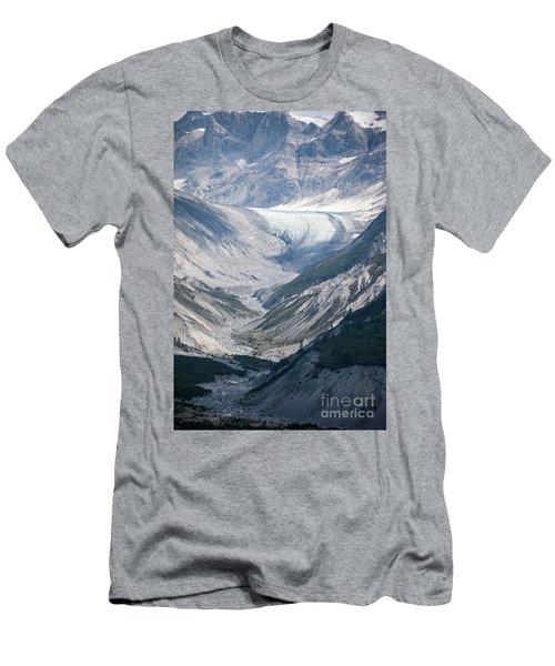 Queen Inlet Glacier Men's T-Shirt (Athletic Fit)