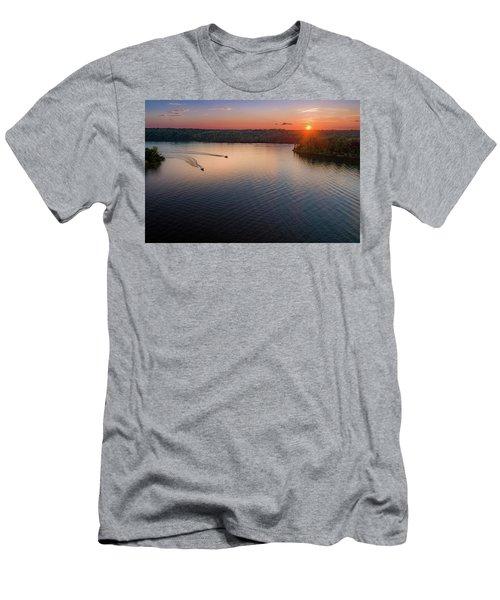 Racing The Sun Men's T-Shirt (Athletic Fit)