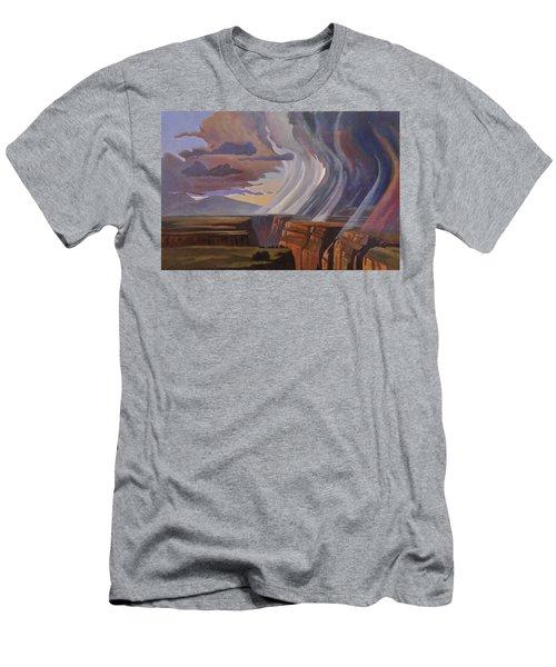 Rainbow Of Rain Men's T-Shirt (Athletic Fit)