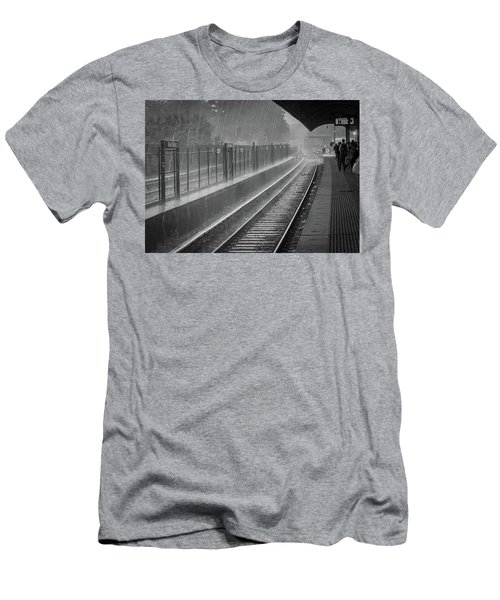 Rainy Days And Metro Men's T-Shirt (Athletic Fit)