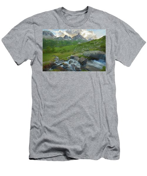 Range In The Claree Valley II Men's T-Shirt (Athletic Fit)