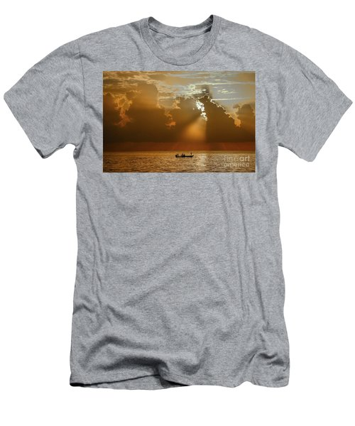 Rays Light The Way Men's T-Shirt (Athletic Fit)