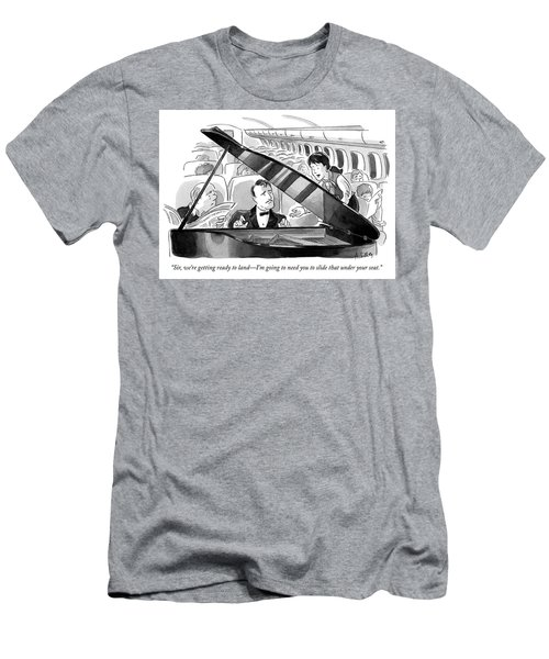 Ready To Land Men's T-Shirt (Athletic Fit)