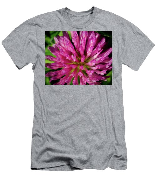 Red Clover Flower Men's T-Shirt (Athletic Fit)