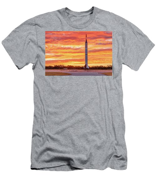 Redstone At Dawn Men's T-Shirt (Athletic Fit)