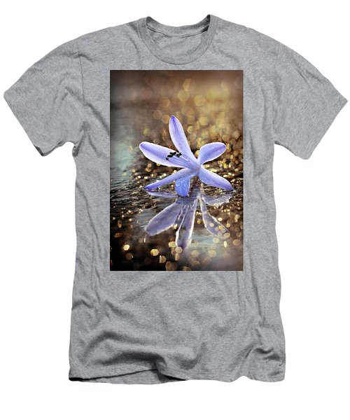 Men's T-Shirt (Athletic Fit) featuring the photograph Reflections Of Joy by Michelle Wermuth