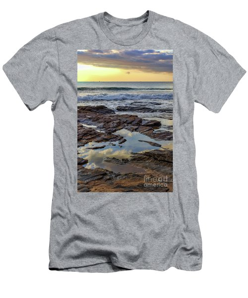 Reflections On The Rocks Men's T-Shirt (Athletic Fit)